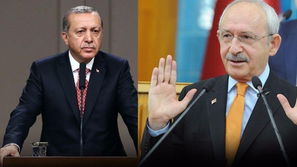 Τουρκία: Ο Ερντογάν επιδιώκει άρση ασυλίας του αρχηγού της αξιωματικής αντιπολίτευσης Κιλιτσντάρογλου