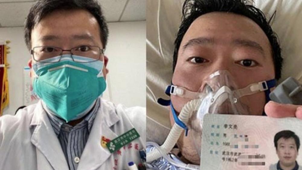 """Αλαλούμ με την τύχη του γιατρού που χτύπησε το """"καμπανάκι"""" του κοροναϊού: Είναι ζωντανός, λέει το νοσοκομείο"""