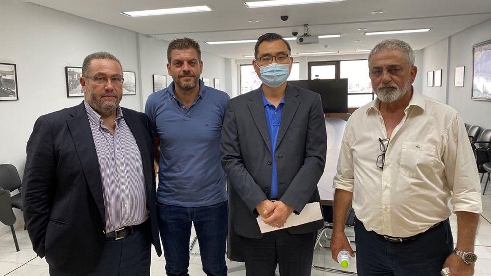 Ο ΟΛΠ δεν πρόκειται να προχωρήσει στην κατασκευή ναυπηγείου, υποστηρίζουν ναυπηγοεπισκευαστές, μετά από συνάντησή τους με τον Xu Zenggang
