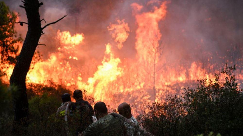 Παράσταση πολιτικής αγωγής για την πυρκαγιά στο Μάτι από συγγενή θυμάτων