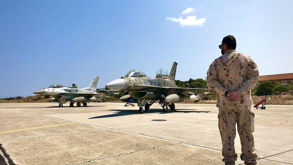 Ολοκληρώθηκε η συνεκπαίδευση της Πολεμικής Αεροπορίας των ΗΑΕ με τις ελληνικές Ένοπλες Δυνάμεις