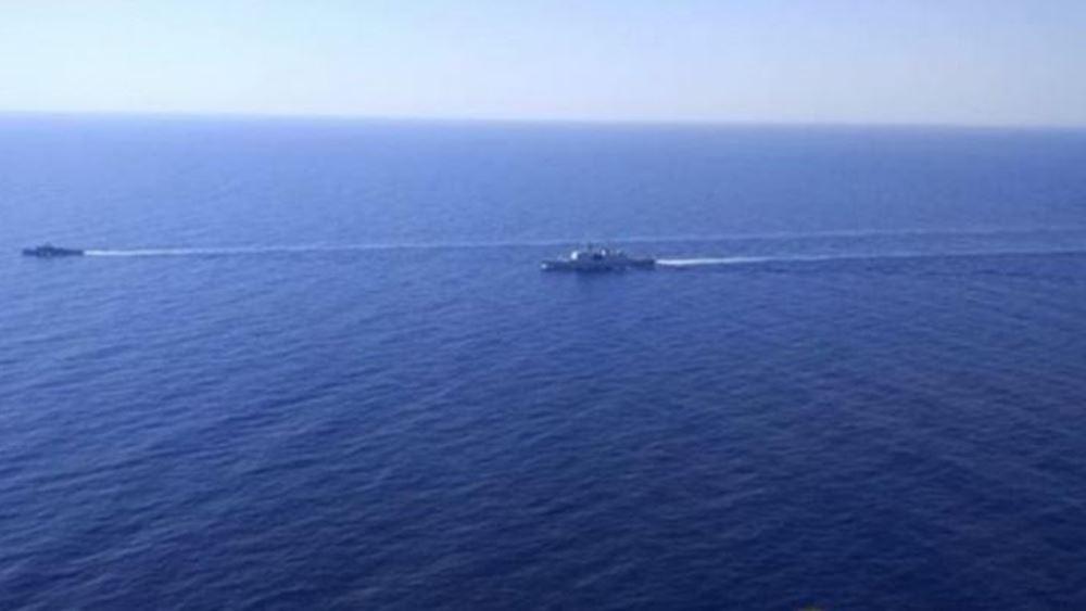 Μεγάλη άσκηση με Γαλλία και Ιταλία στην κυπριακή ΑΟΖ