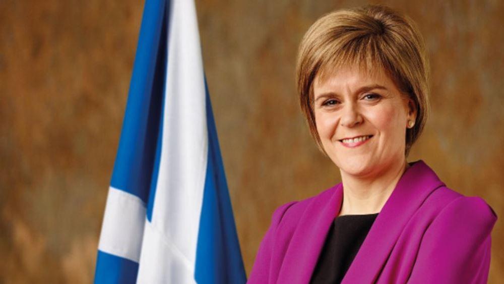 Νέο δημοψήφισμα για την ανεξαρτησία της Σκοτίας θέλει η Νίκολα Στέρτζον