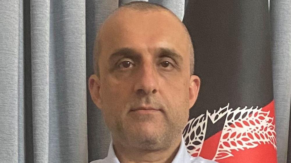 Αφγανιστάν: Ο πρώτος αντιπρόεδρος Σάλεχ λέει ότι είναι ο 'υπηρεσιακός' πρόεδρος