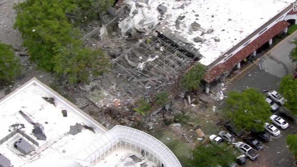 ΗΠΑ: 21 τραυματίες από έκρηξη αερίου σε εμπορική ζώνη στη Φλόριντα