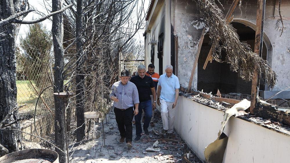 Ολοκληρώθηκε η αυτοψία της Περιφέρειας Αττικής στις πυρόπληκτες επιχειρήσεις
