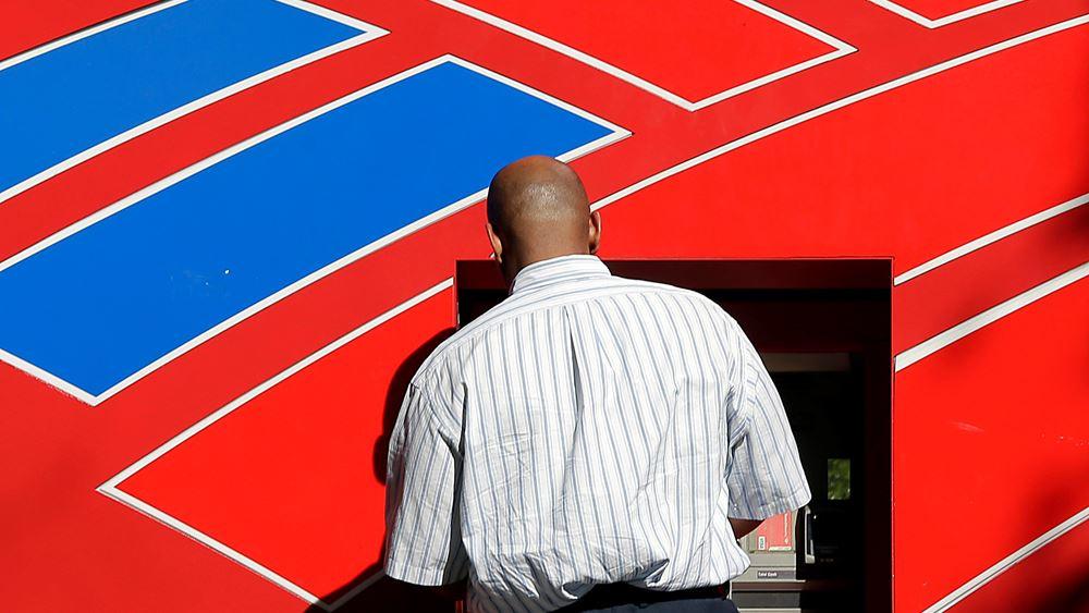 Πτώση κερδών για Bank of America, υψηλότερα των εκτιμήσεων ωστόσο