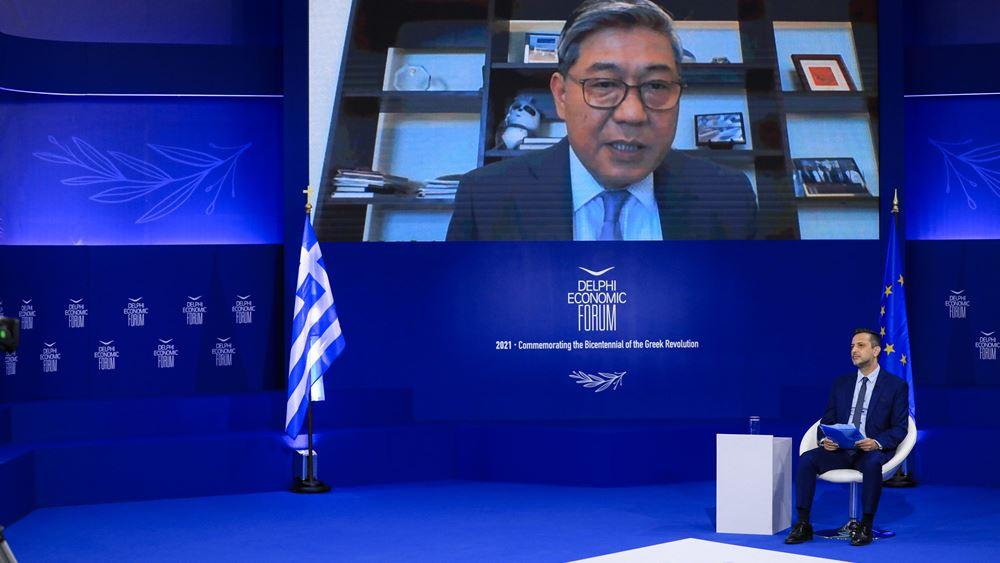 Captain Weng Lin: Ο ΟΛΠ είναι πηγή ευημερίας και πύλη προς στην Ευρώπη