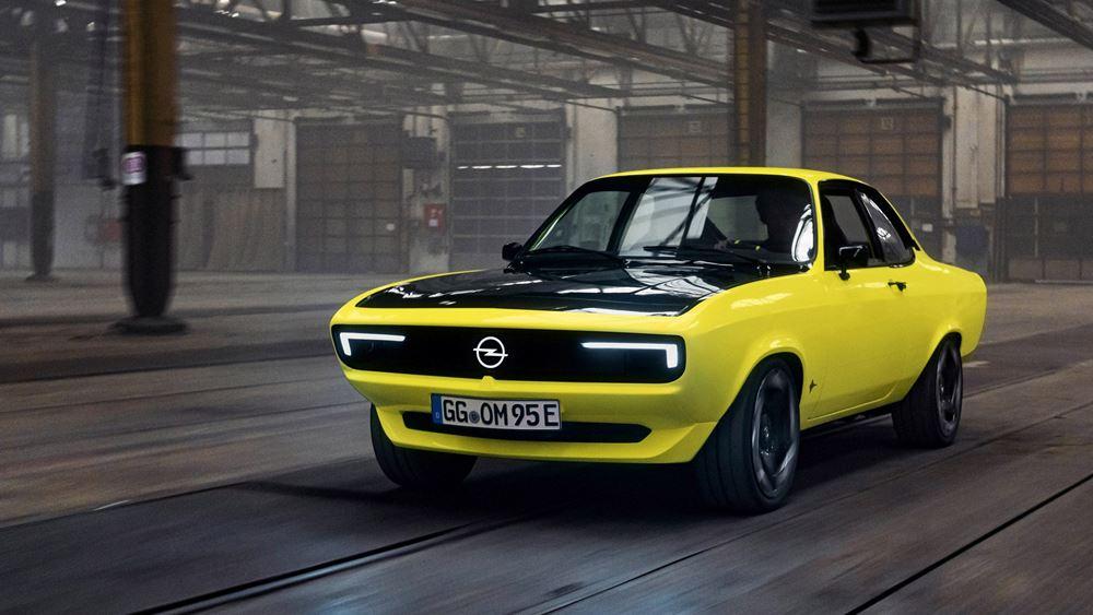 Η Opel βάζει στην πρίζα το θρυλικό Manta
