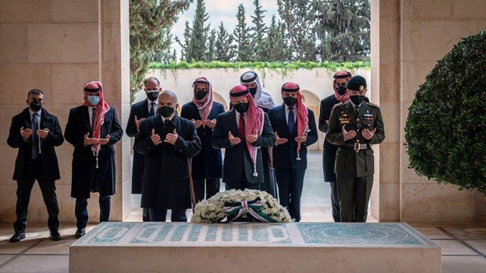 Ιορδανία: Η πρώτη κοινή εμφάνιση του βασιλιά Αμπντάλα με τον πρίγκιπα Χάμζα