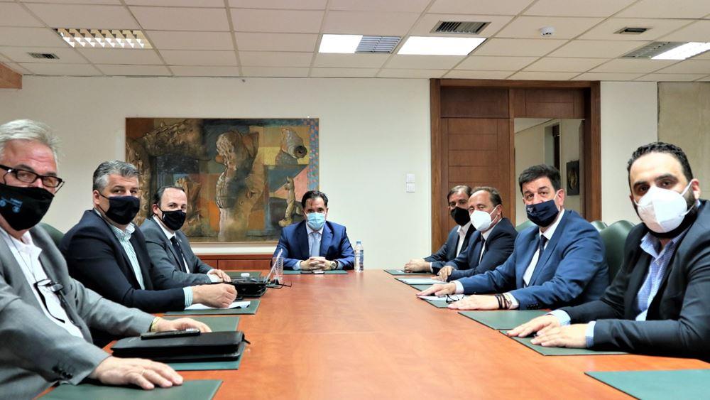 Συνάντηση Άδωνι Γεωργιάδη με το ΔΣ του ΕΦΕΠΑΕ