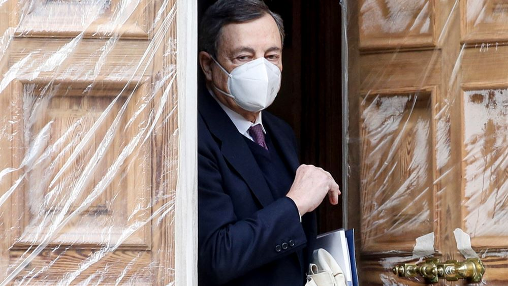 Ιταλία: Ο Ντράγκι ξεκινά το απόγευμα τις διερευνητικές επαφές με τα κόμματα