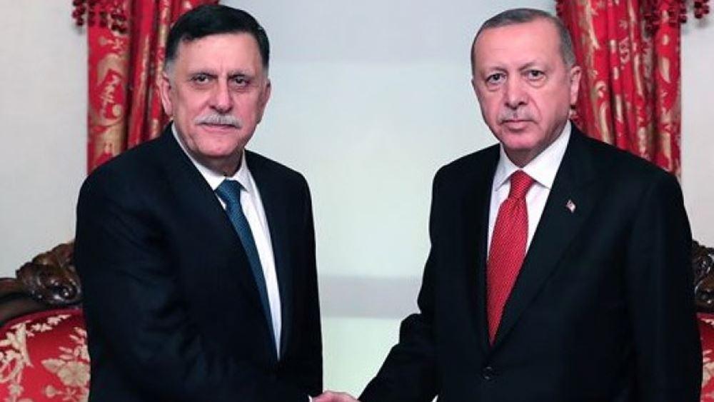 """Για... """"3+1"""" χρόνια υπέγραψαν το μνημόνιο Ερντογάν και αλ-Σαράτζ"""