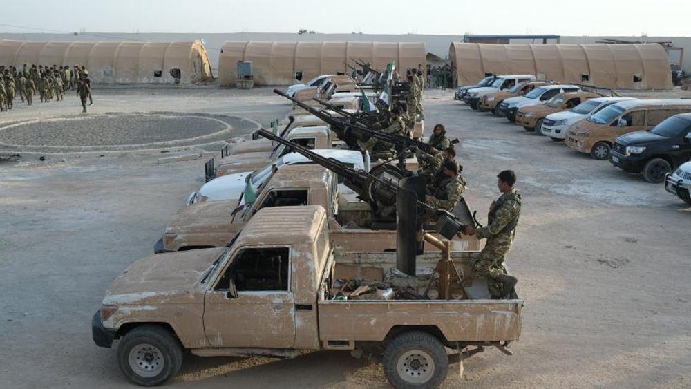 """Με ατομικές συμβάσεις """"σωματοφύλακα"""" πηγαίνουν Σύροι αντάρτες στη Λιβύη"""