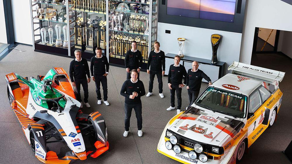 Η ομάδα-όνειρο της Audi για το Ράλι Ντακάρ