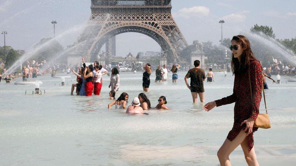 Γαλλία: Άρση του συναγερμού για τον καύσωνα στο Παρίσι