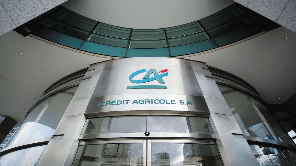 Credit Agricole: Μειώθηκαν 15% τα καθαρά κέρδη β΄ τριμήνου