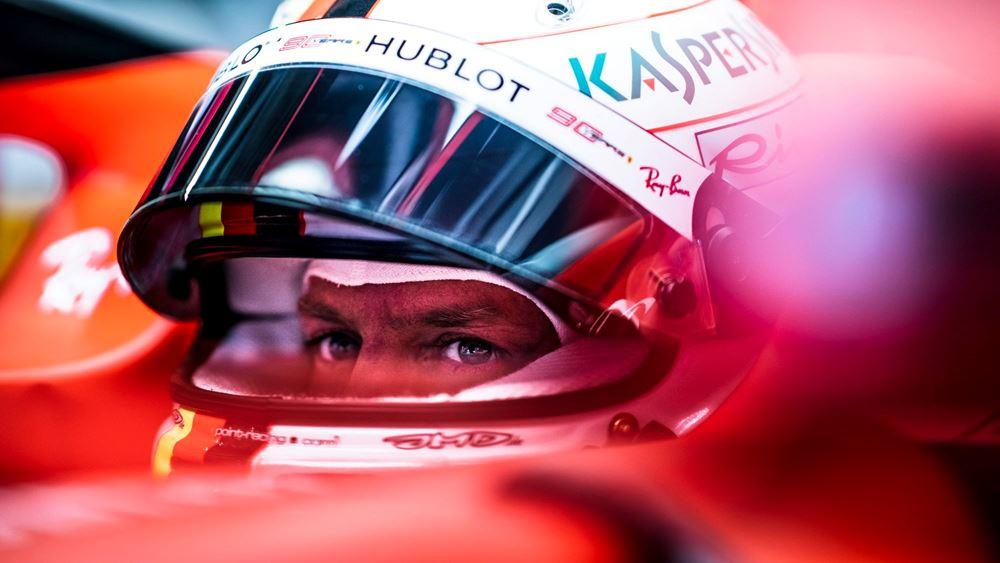 F1: Ανατροπή από τον Vettel (vid.)
