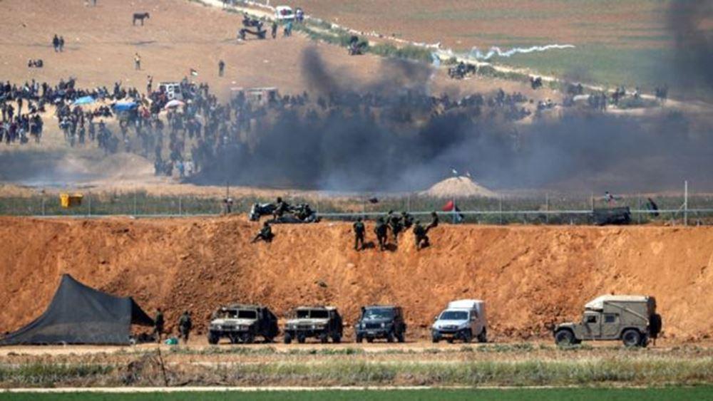 Πλήγματα του Ισραήλ στη Λωρίδα της Γάζας μετά την εκτόξευση δύο ρουκετών από Παλαιστίνιους