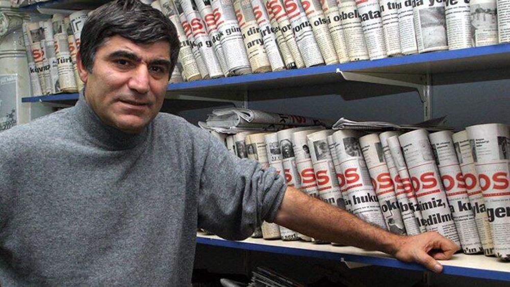 Τουρκία: Επτά καταδίκες για τη δολοφονία του δημοσιογράφου Χραντ Ντινκ
