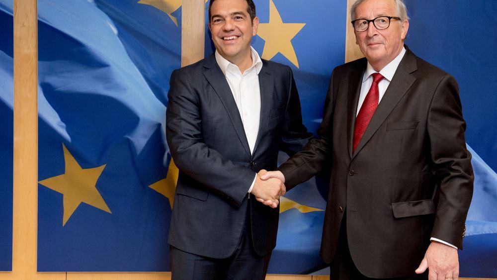 Τι συζήτησαν Τσίπρας-Γιούνκερ για Τουρκία και Ε.Ε.