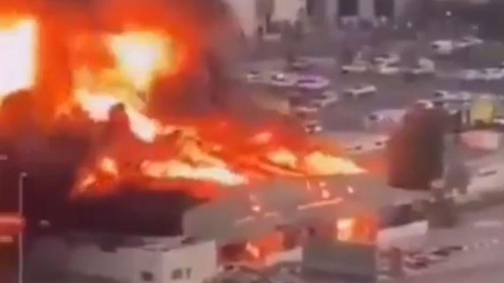Ην. Αραβικά Εμιράτα: Μεγάλη πυρκαγιά σε κλειστή αγορά του εμιράτου Ατζμάν, δεν αναφέρθηκαν θύματα