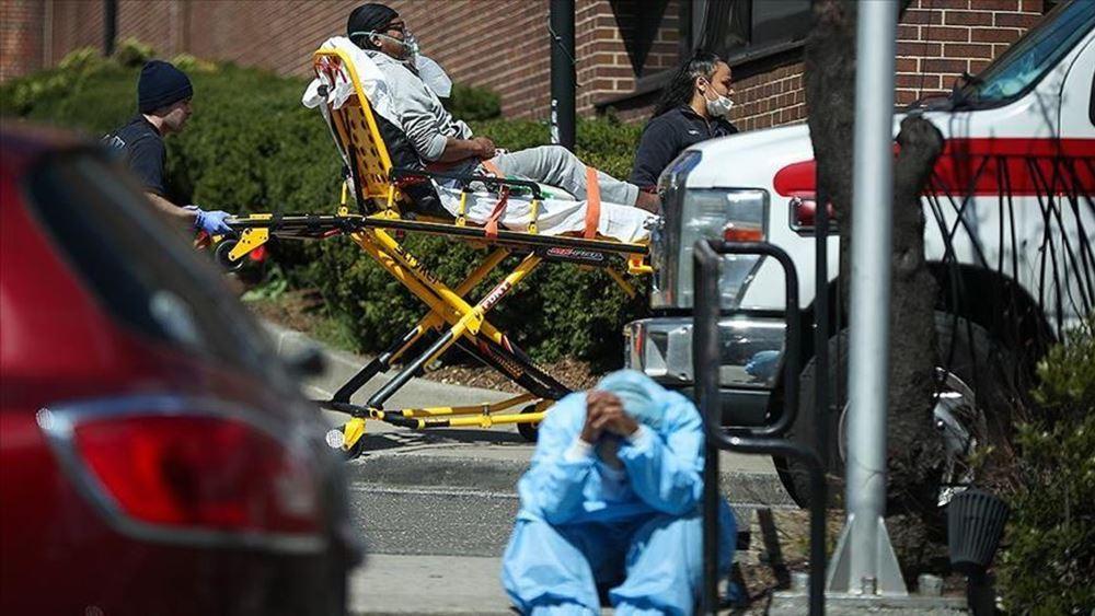 ΗΠΑ - κορονοϊός: Ο βαρύτερος απολογισμός από τα μέσα Μαΐου - 1.592 νέοι θάνατοι