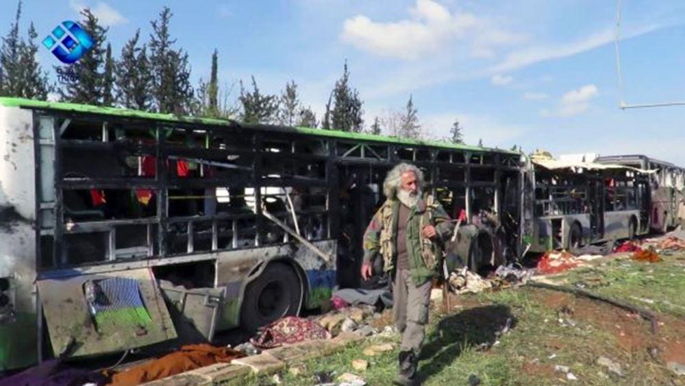 """Συρία: """"Ισραηλινή επίθεση"""" στο Χαλέπι"""