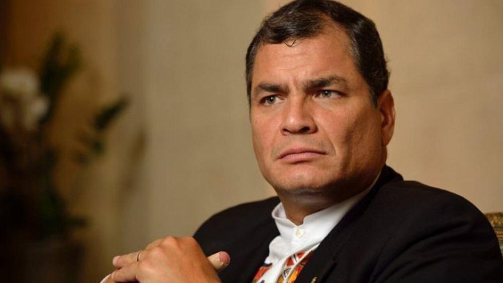 Ισημερινός: Ο πρώην πρόεδρος Ραφαέλ Κορέα θα δικαστεί ερήμην
