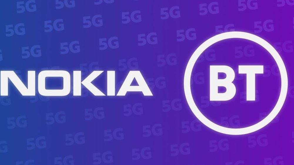 H Nokia εκμεταλλεύεται την έξωση της Huawei και αναλαμβάνει νέα πεδία 5G στη Βρετανία
