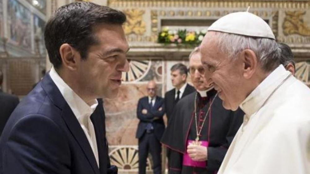 Συνάντηση Τσίπρα-Πάπα για Προσφυγικό και Πρέσπες