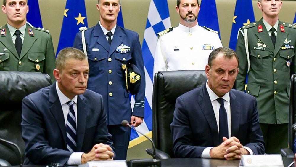 Συνεδρίαση του Συμβουλίου Άμυνας υπό τον Ν. Παναγιωτόπουλο