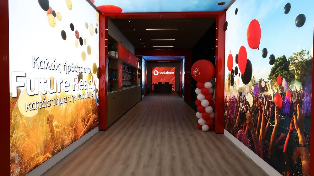 Το πρώτο Future Ready κατάστημα της Vodafone στην Ευρώπη στο The Mall Athens