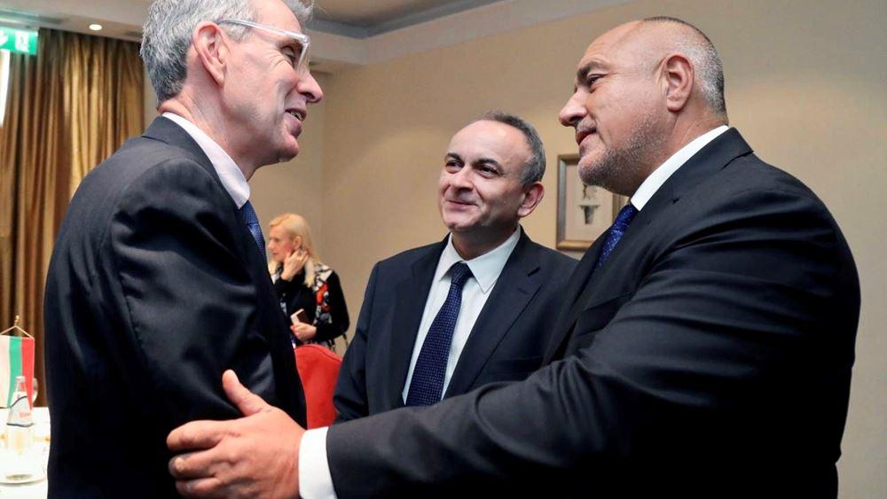 Συνάντηση Τζ. Πάιατ με τον Μπ. Μπορίσοφ στο περιθώριο του Thessaloniki Summit