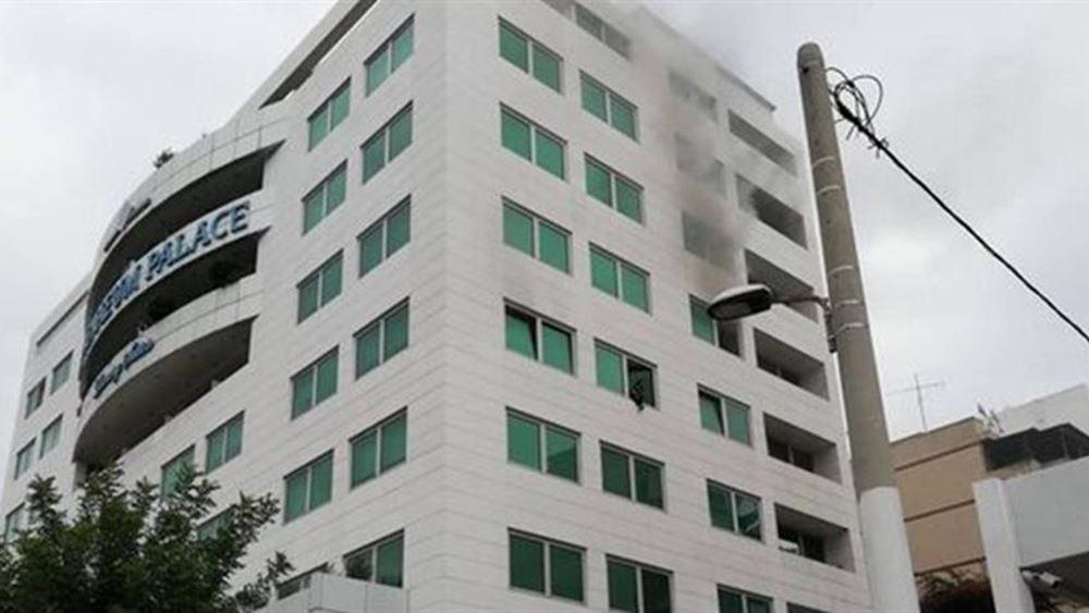 Φωτιά σε ξενοδοχείο στη Συγγρού - Απεγκλωβίστηκαν 20 άτομα