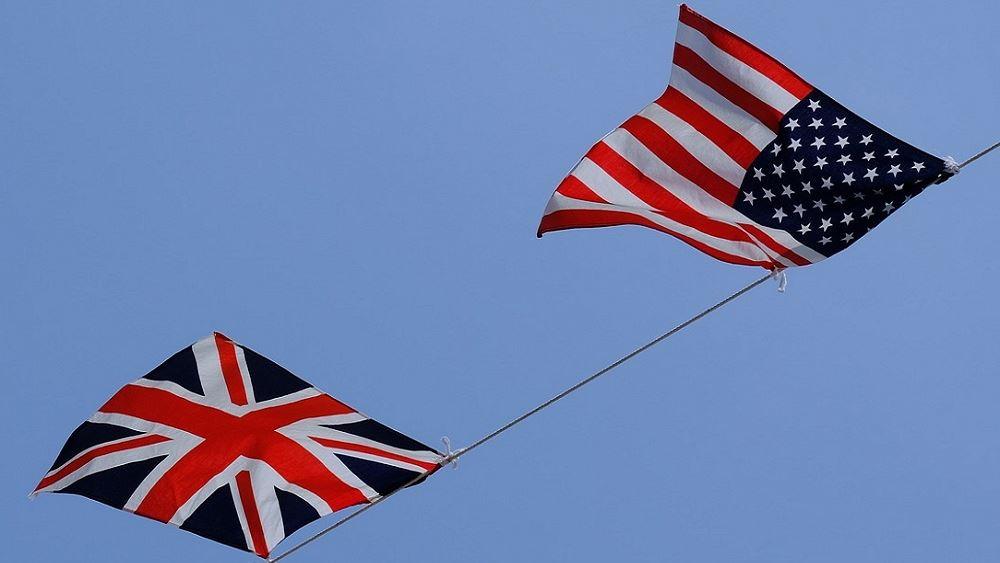 Απίθανη μια εμπορική συμφωνία μεταξύ ΗΠΑ και Ηνωμένου Βασιλείου εντός του 2020
