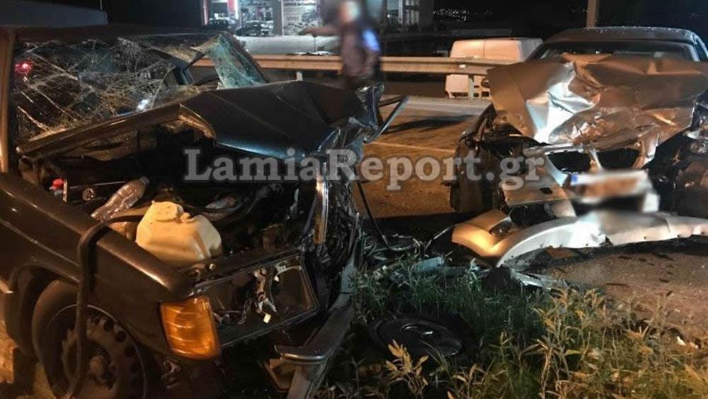 Λαμία: Ένας νεκρός σε σύγκρουση οχημάτων στην είσοδο της πόλης