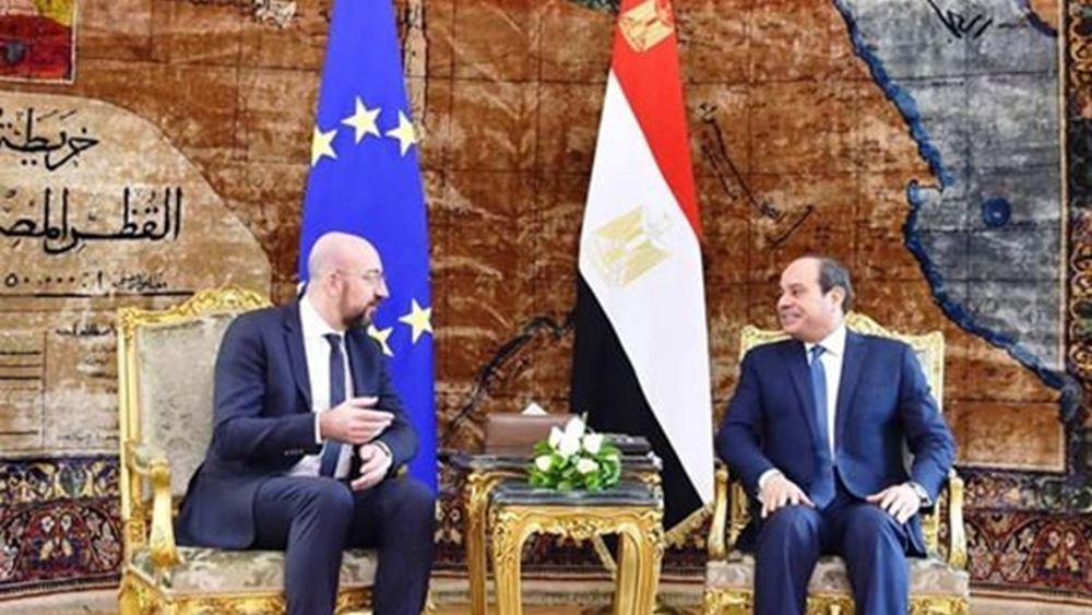 Επικοινωνία  Σαρλ Μισέλ με Ερντογάν και Αλ-Σίσι