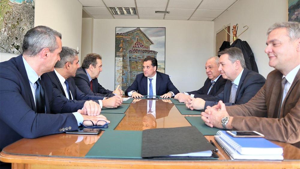 Συνάντηση Α. Γεωργιάδη με την ΕΣΕΕ για την εύρυθμη λειτουργία της αγοράς