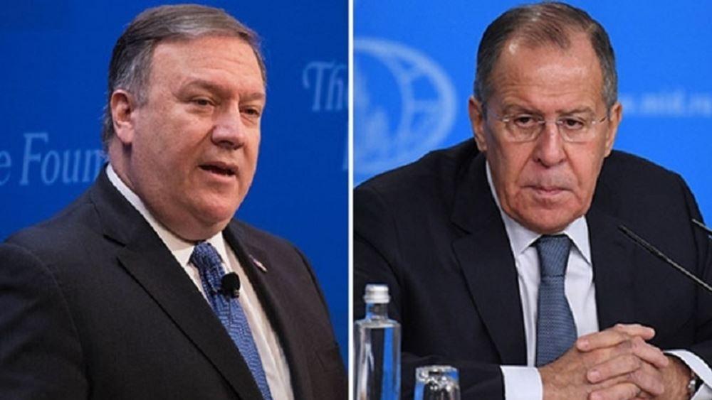 Λαβρόφ και Πομπέο συζήτησαν για κορονοϊό και Συρία