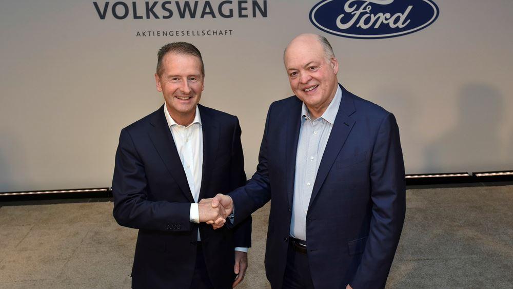 Η Volkswagen και η Ford διευρύνουν την παγκόσμια συνεργασία τους