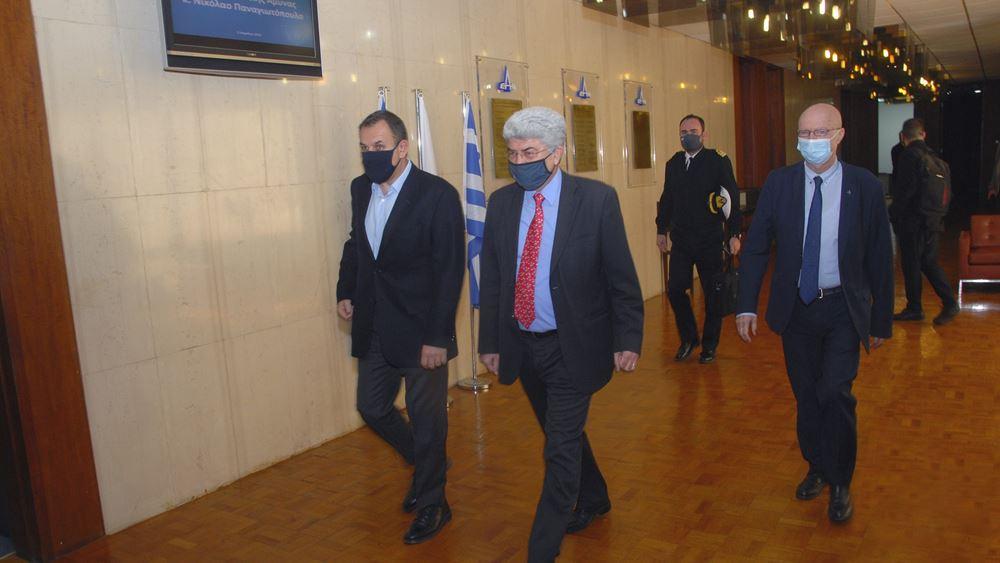 ΕΑΒ: Ο υπουργός Εθνικής Άμυνας ενημερώθηκε για την πρόοδο των έργων του Υπουργείου
