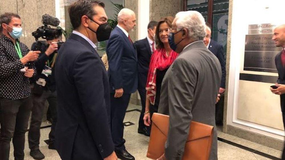 Α. Τσίπρας σε ευρωσοσιαλιστές: Κρίσιμη η ενταξιακή προοπτική των Δυτικών Βαλκανίων