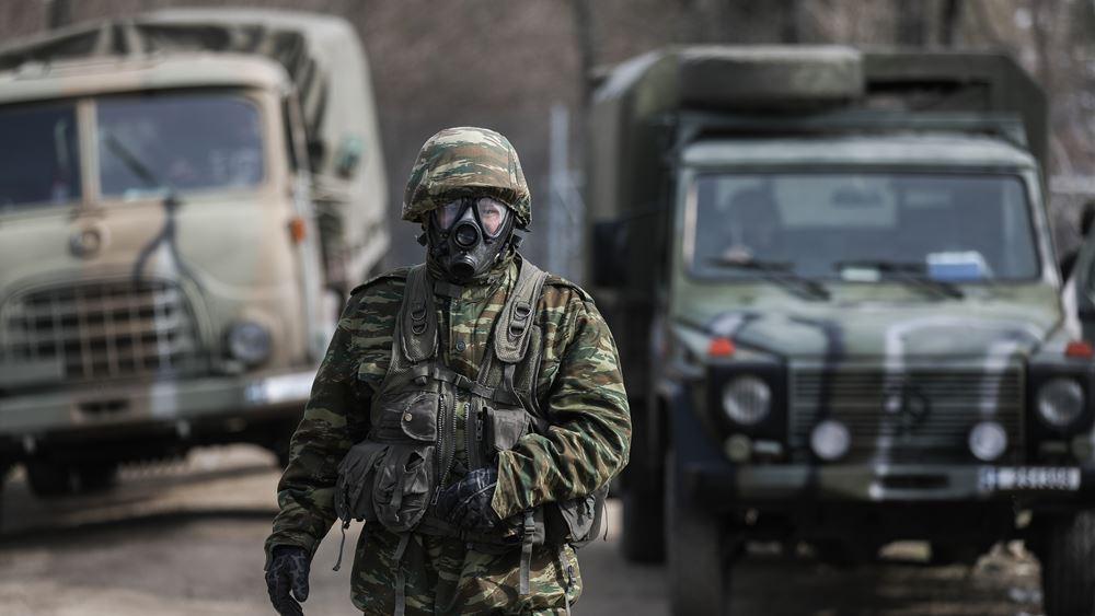 Στην κατασκευή εμποδίων στον Έβρο προχωρούν οι Ένοπλες Δυνάμεις