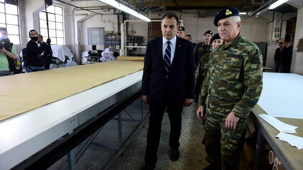 Ν. Παναγιωτόπουλος: Οι Ένοπλες Δυνάμεις είναι πανταχού παρούσες, εξασφαλίζοντας τα σύνορα της χώρας