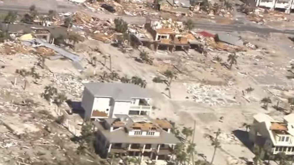 Ο τυφώνας Μάικλ ο ισχυρότερος που έπληξε τις ΗΠΑ τα τελευταία 27 χρόνια