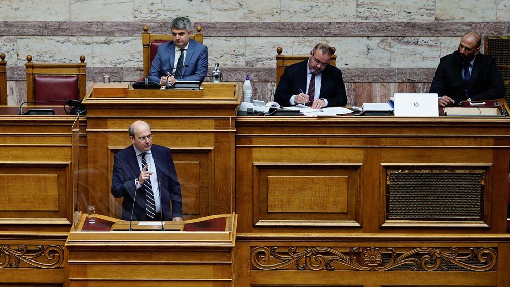 Χατζηδάκης: Ιστορικής σημασίας και διακομματικής συναίνεσης η Συμφωνία για τον EastMed