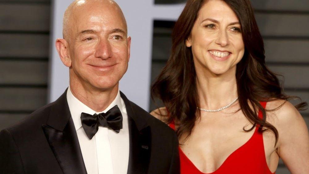 Η πρώην σύζυγος του Bezos είναι και επίσημα η τρίτη πλουσιότερη γυναίκα στον κόσμο