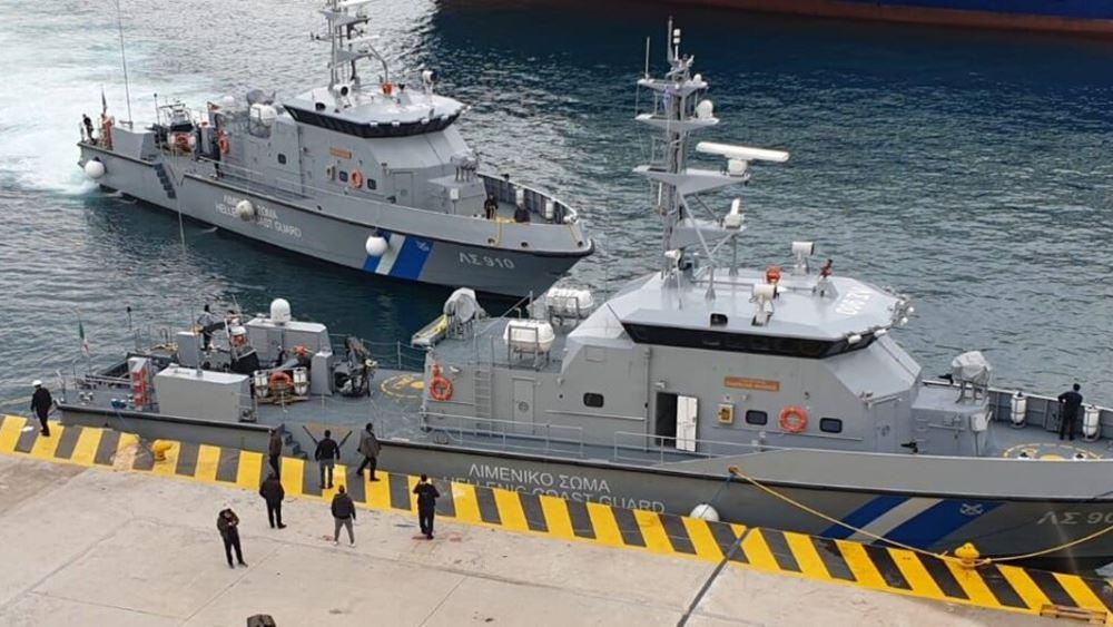 Αγιασμός στο λιμάνι της Αλεξανδρούπολης του νέου υπερταχύπλοου περιπολικού σκάφους του λιμενικού δωρεά της ΕΕΕ