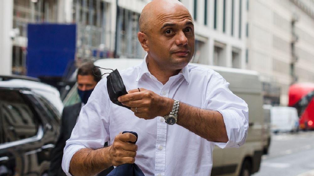 Σατζίντ Νταβίντ Βρετανος υπουργος Υγειας κορονοιος πανδημια